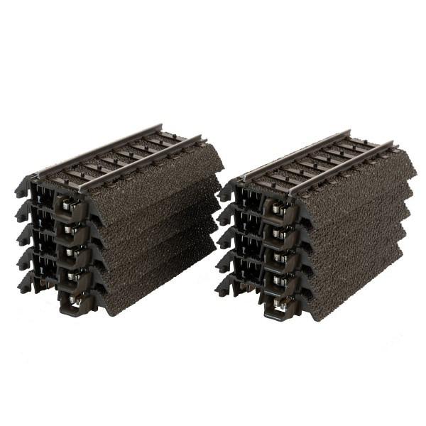 C-Gleispackung 10 Stk. gerade, 64,3 mm