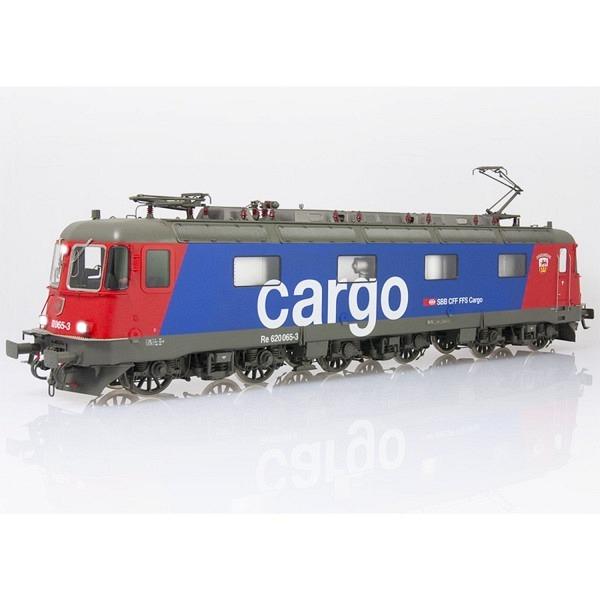 """NEU Spur 0: SBB Re 620 065-3 """"Ziegelbrücke"""" Cargo, eckige Scheinwerfer, mit Klima"""
