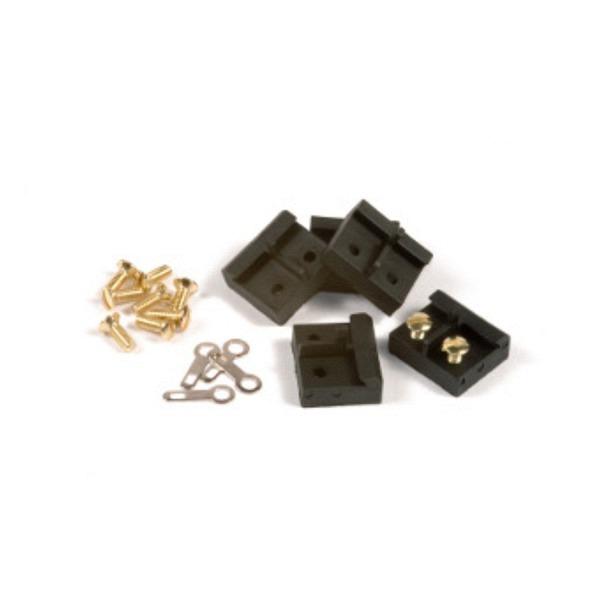Für LGB: Isolierschienenverbinder mit Edelstahlschrauben, 10 Stk.