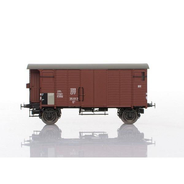 SBB - Gedeckter Güterwagen K2 braun