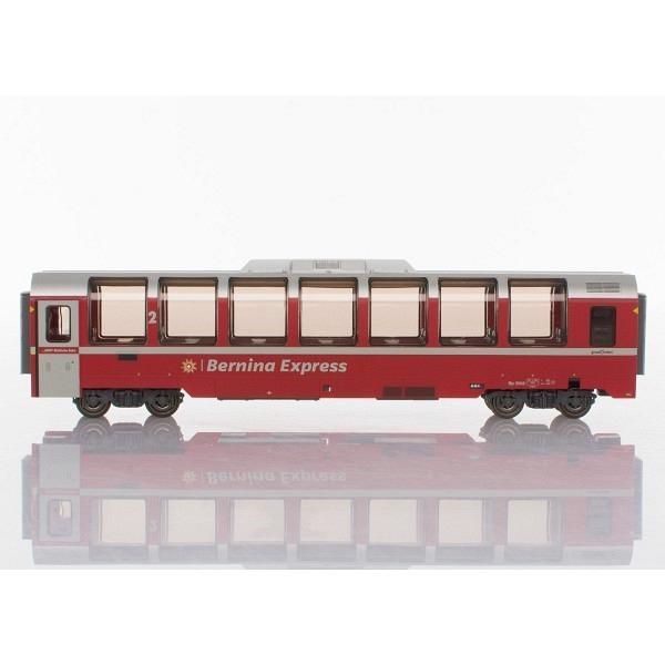 "RhB Bp 2502 ""Bernina-Express"" Panoramawagen 2. Klasse für H0."