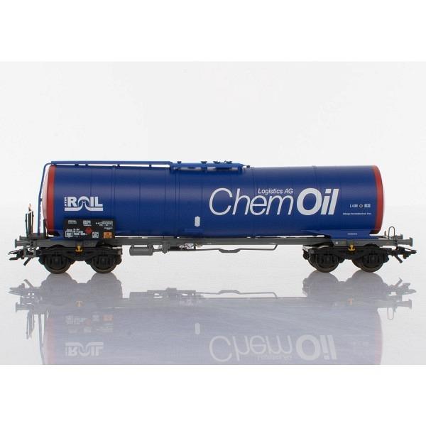 """Knickkesselwagen """"Firma ATIR Rail"""" und """"Schweizer Chem Oil"""""""