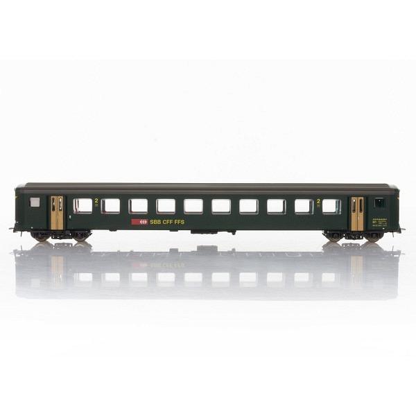 SBB Schnellzugwagen EW II 2. Klasse.
