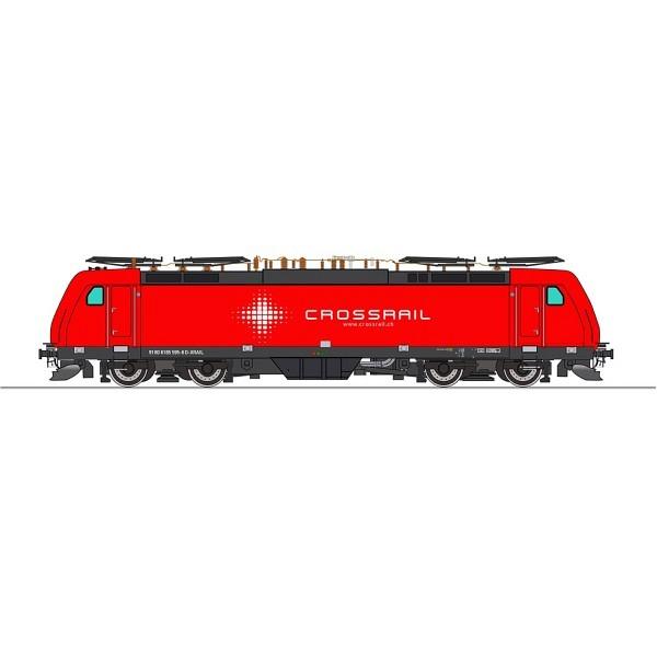 Crossrail BR 185 595-6 - 4 Pantho SBB/DB/DB/SBB
