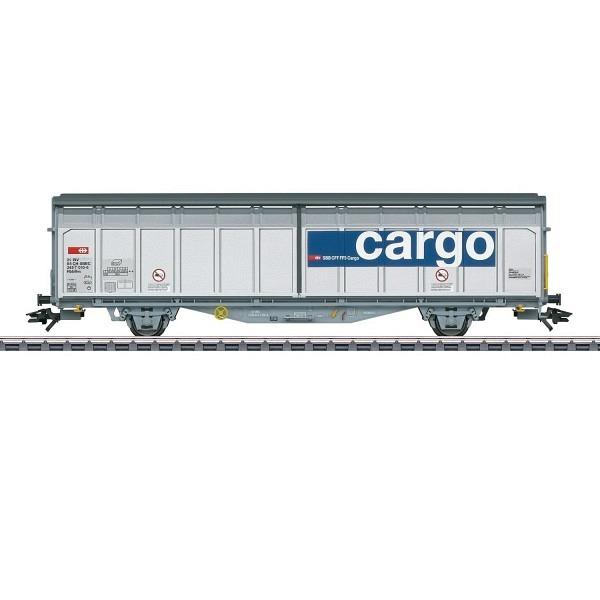 SBB Cargo Schiebewandwagen Hbbillns