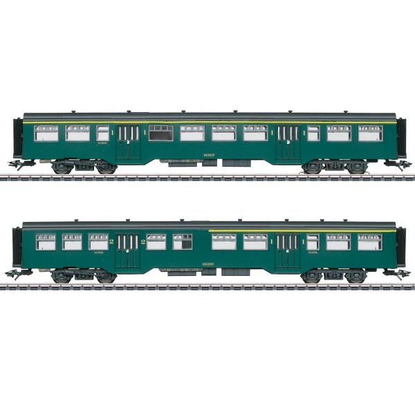 Belgisches Personenwagen-Set M2 z.Reihe 1, SNCB