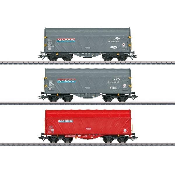 """Schiebeplanenwagen-Set """"Nacco"""""""