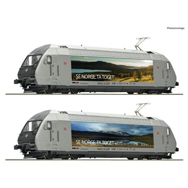 Elektrolokomotive EL 18 2247 der Norwegischen Staatsbahnen