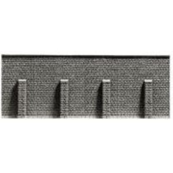 Stein-Stützmauer, 33,5 x 12,5 cm
