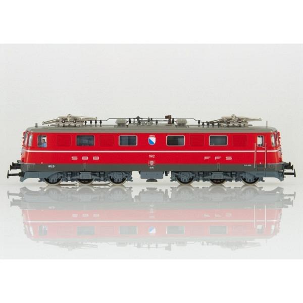 "SBB Ae 6/6 Kantonslok ""Zürich"" Nr. 11412 rot mit ESU LokPilot M4 V4.0-Decoder ("