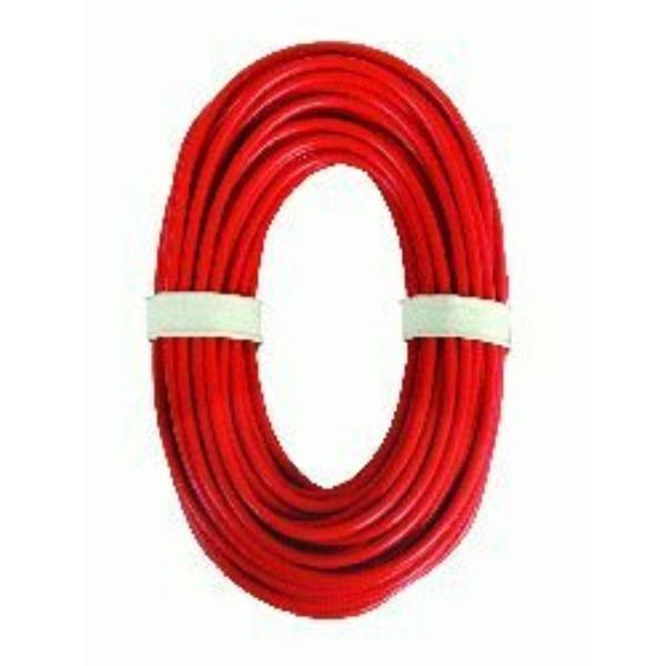 Anschlusskabel rot, 0,75 mm2, 10 m.