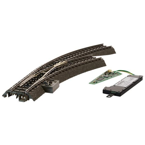 C-Gleis: Digital-Bogenweiche rechts