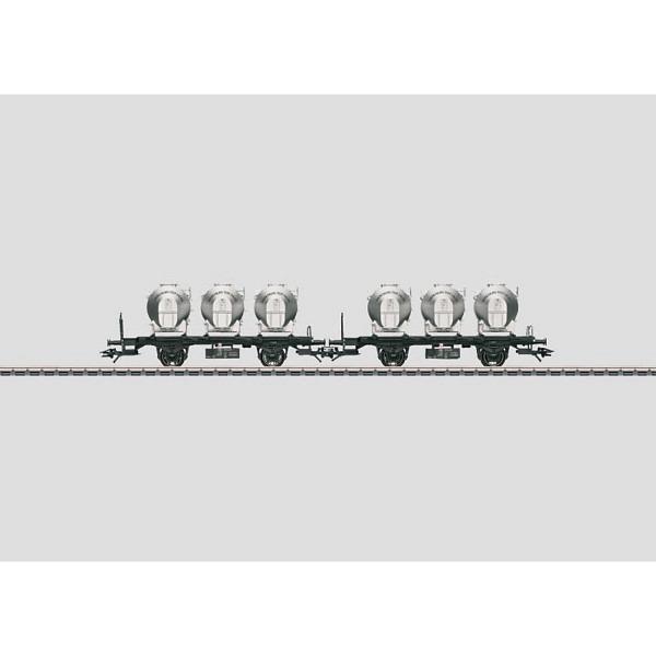 Behältertragwagen-Set SNCB