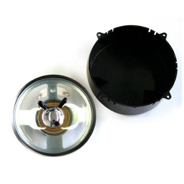 Lautsprecher 78mm, rund, 8-32 Ohm, mit Schallkapsel