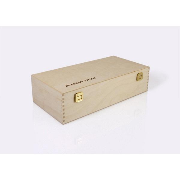 Dekorative Holzkassette für diverse Märklin-Loks mit Klarsichteinlage