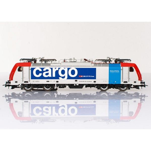 BR 186 Railpool vermietet an die SBB, Geschäftsbereich Cargo - mit MM-Decoder o