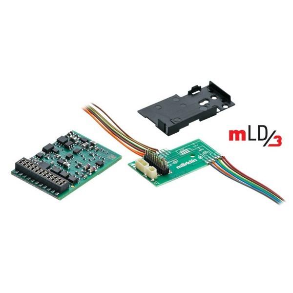 LokDecoder mLD3 mit 21 poliger mtc-Schnittstelle